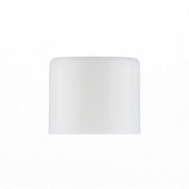 Ø14 Plain cap -White