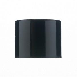 Ø17 Double plain cap -Black