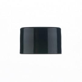 Ø18 Plain cap -Black