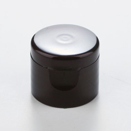 Ø20 One touch cap-Brown pearl