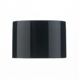 Ø20 Double plain cap -Black