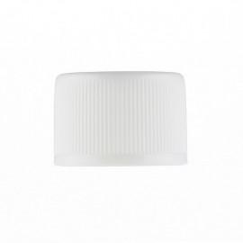Ø20 Plain cap -White