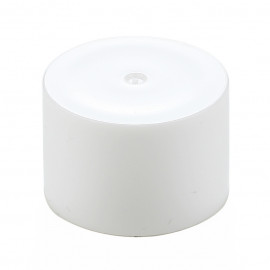 Ø20 Double plain cap -White