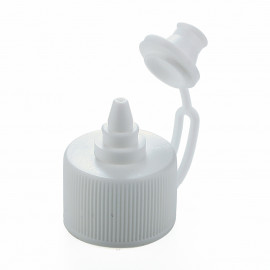 Ø24 Ring one touch cap-White