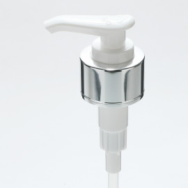 Ø28 Pump A-Silver plating+White