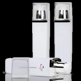 HB-SQ01_PETG Quadrangle container(Shoulder,Over Cap include)